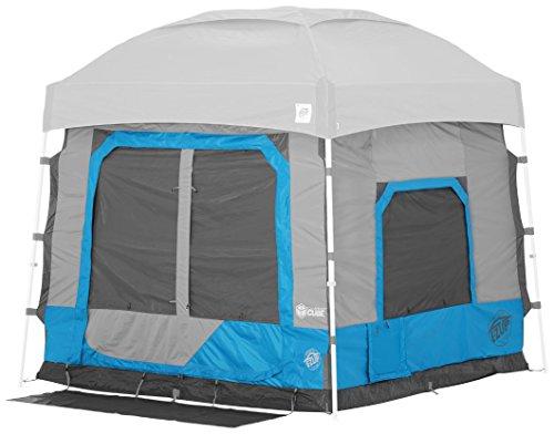 E-Z UP - Cubo da campeggio 5.4, converte 10 'a baldacchino angolato in tenda da campeggio, Splash