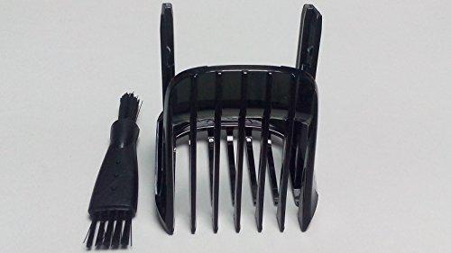Neu Haarschneider Kammaufsatz Bart Beard Trimmer Hair Clipper COMB KAMM Für PHILIPS 5000 Series HC5410 HC5440 HC5442 HC5446 HC5447 HC5450 HC7450 HC7452 Small Scherkämme schwarz combs Shaver Razor