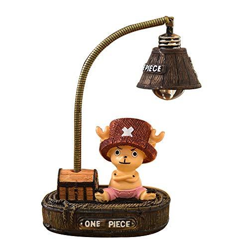 ALTcompluser Anime One Piece LED Nachtlicht Lampe, Nachttischlampe Schreibtischlampe Deko für Kinderzimmer/Wohnzimmer(Chopper)