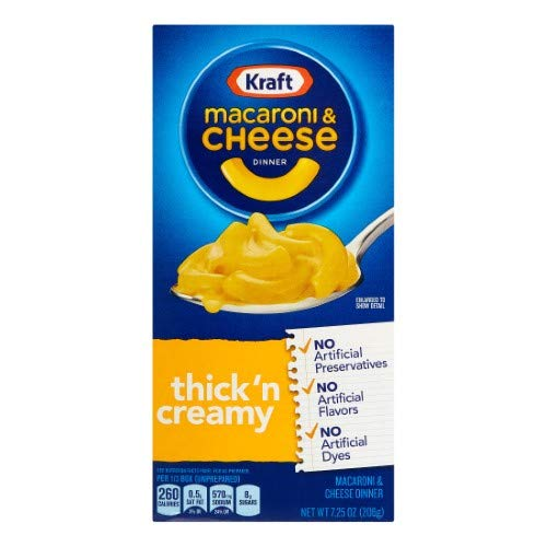 Kraft Ranking TOP4 Macaroni Cheese Dinner Thick 6 Directly managed store Pack of Creamy