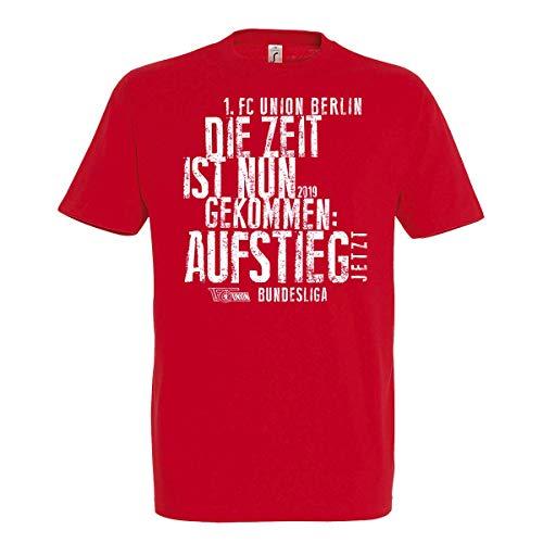 1. FC UNION Berlin T-Shirt Aufstieg 2019 Erwachsene (XXL)