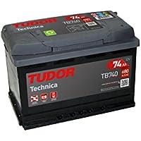Batería para coche Tudor Technica TB740 12V 74Ah