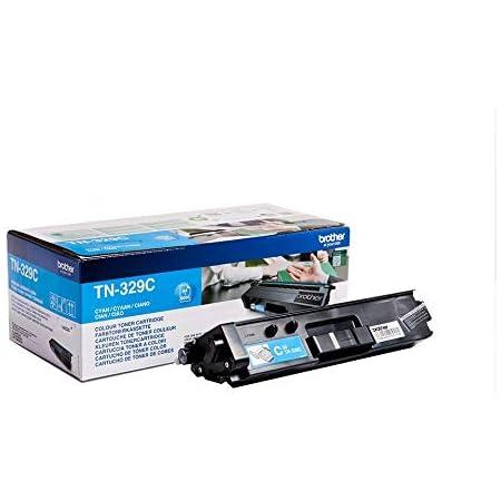 Brother Original Super Jumbo Tonerkassette Tn 329c Cyan Für Brother Hl L8350cdw Dcp L8450cdw Mfc L8850cdw Bürobedarf Schreibwaren