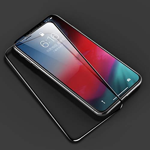 Goede 0.23mm zachte rand 7D gebogen oppervlak volledig scherm gehard glas film voor iPhone XS Max(Transparant) Moonbaby Transparant