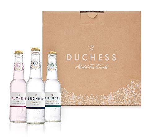 The Duchess Alkoholfreier Gin & Tonic Variety, Botanical Floral Greenery, 12er-Pack (12 x 275 ml)