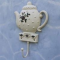 ヨーロッパのフック牧歌的なクリエイティブ人格レトロ鋳鉄フック壁の壁掛け壁の装飾やかん形服や帽子フック 壁飾りフック
