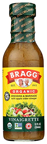 Bragg, Organic Vinaigrette Dressing, 12 oz