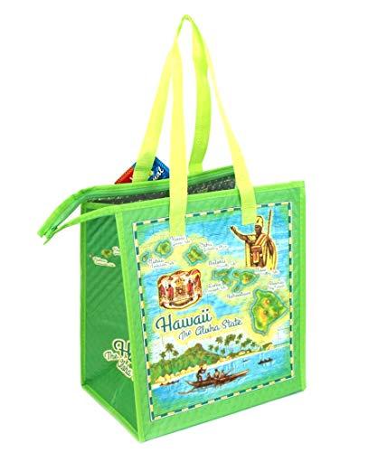 保冷バッグ ハワイ直輸入 エコバッグ トートバッグ ランチ バッグ ハワイアン雑貨 アメリカン雑貨 ハワイ お土産 (アロハステート)