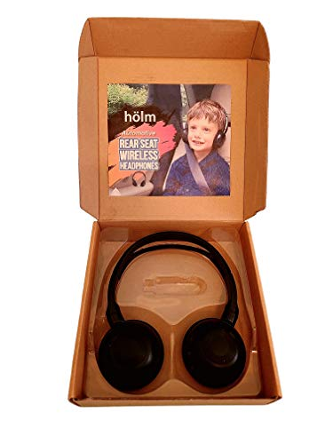 HÖLM Wireless DVD Headphones for Kids, Compatible with Chevy Tahoe, Suburban, GMC Yukon, Cadillac Escalade (2001 to 2016 Model Years)