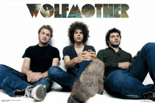 Wolfmother Poster–Group Shot Relax–Rare NEU