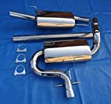 Système d'échappement en acier inoxydable pour golf 3 1 x 60 gM groupe sportauspuff taille a
