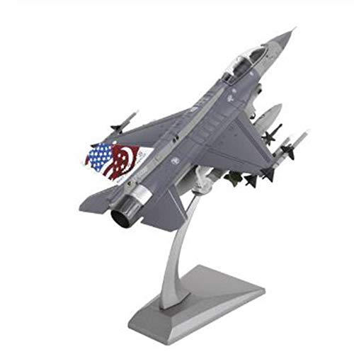 High Simulation 1:100 F16 Singapore Fighter Alloy Aircraft Model Military Model F16 Fighter Model Kids Gifts