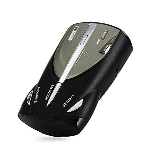 Lowest Price! YUNSHAO Car Speed Radar Detector 360 Degree, Laser and GPS Speed Camera & Red Light Ca...