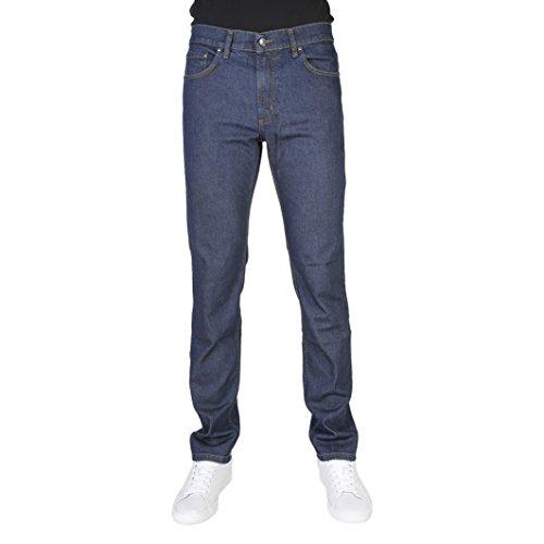 Jeans Uomo CARRERA Elasticizzato 5 Tasche Taglie 46 - 62 Art.700 / 921A ( Blu Scuro - 54)