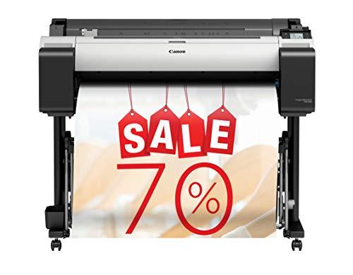 Canon imagePROGRAF TM-305 Großformatdrucker inkl. Stand 3056C003 (A0, 91,44 cm, 2.400x 1.200 DPI, LAN, WLAN, Festplatte)