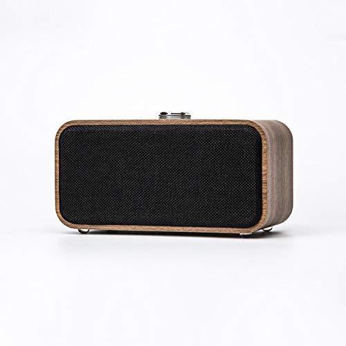 Altavoz Bluetooth inalámbrico de Madera portátil Vintage Radio FM Tarjeta TF Altavoz bajo Pesado Regalo de año Nuevo en Radio de Electrónica de Consumo en AliExpress.com   Grupo Alibaba Oscuro