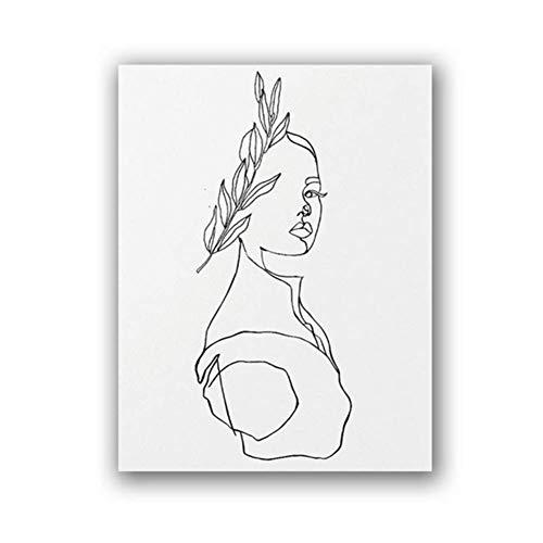 Afrodita Imprimir Obra arte abstracto Estatua