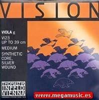 CUERDA VIOLA - Thomastik (Vision/VI23) (Sintetica/Entorchado Plata) 3ェ Medium Viola 4/4
