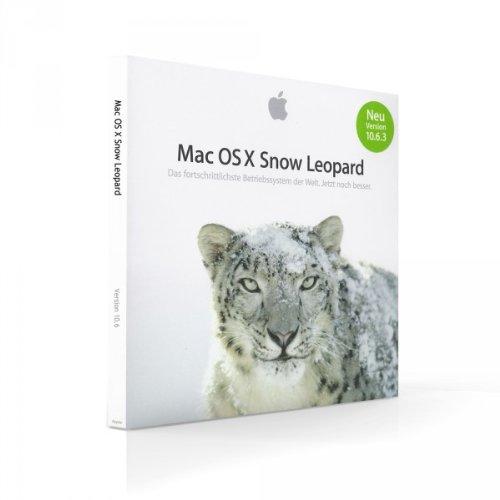 Mac OS 10.6.3 Snow Leopard [MC573Z/A]