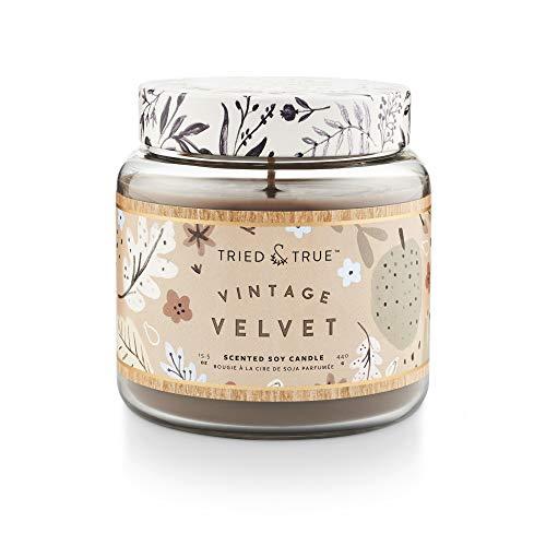 Tried & True: Vela en frasco olor Vintage Velvet
