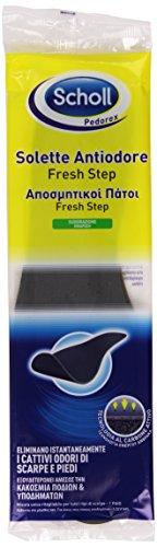 Scholl Solette Antiodore, Eliminano i Cattivi Odori di Scarpe e Piedi, 1 Paio
