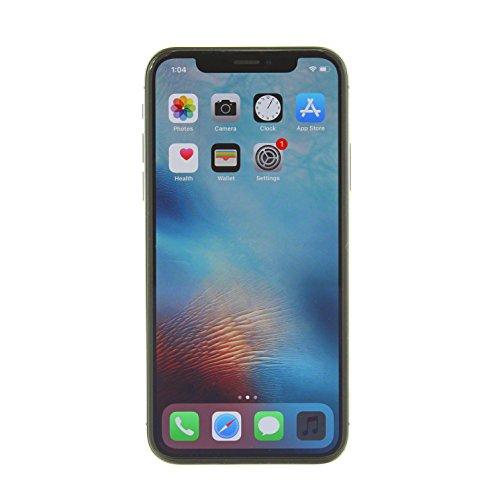 Apple iPhone X, GSM Unlocked, 256GB - Space Gray (Renewed)