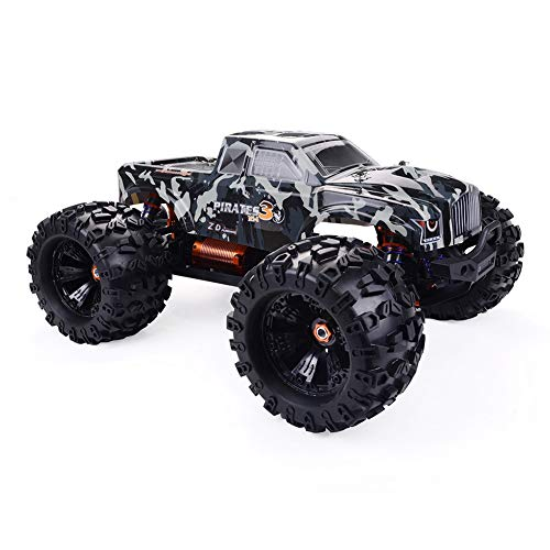 Nannday Fernbedienung Auto, Racing Camouflage MT8 Pirates3 1/8 4WD 90 km/h Brushless RC Auto Spielzeug Fahrzeugmodellbausatz Geburtstag Kinder Jungen