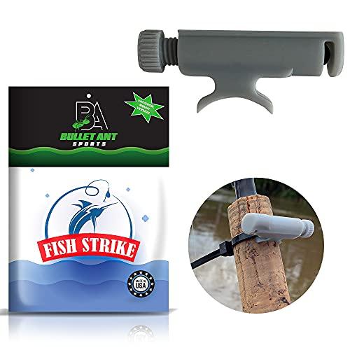 Bullet Ant Sports Fish Strike, Fish Bite Indicator, Fishing Bite Alarm, Fishing Rod Universal Mount,...