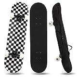 YINXN Skateboard, Komplettboard 7-lagiges...
