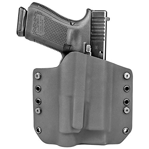 OWB TLR-1 Holster - Black (Right-Hand, Fits Glock 17 - Gen 3, 4 & 5 Compatible)