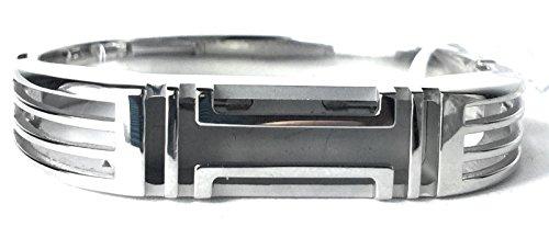 Tory Burch Womens Fitbit Metal Hinged Bracelet
