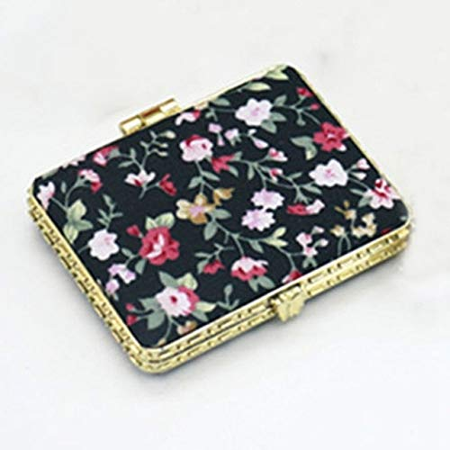 1 Piece Mini Makeup Compact Pocket Mirror BK4