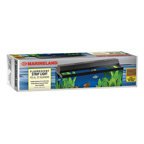 Perfecto Manufacturing APF26202 Marineland Fluorescent Perfect-a-Strip Light Reflector for Aquarium, 20-Inch, Black