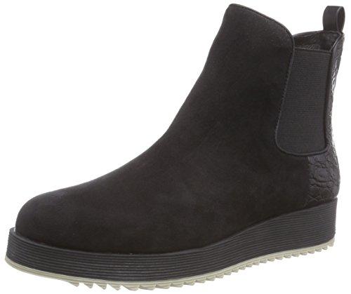 La Strada Damen 806782 Chelsea Boots, Schwarz (1501-black Micro), 36 EU