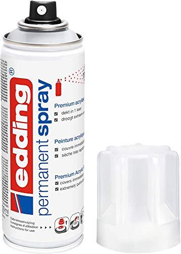 edding 5200 vernis clair permanent en spray - transparent et mat - 200ml - vernis...