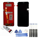 Visiodirect Ecran Complet: Vitre Tactile + LCD Compatible avec Huawei P20 Lite Taille 5.84' Bleu + Kit Outils + Colle...
