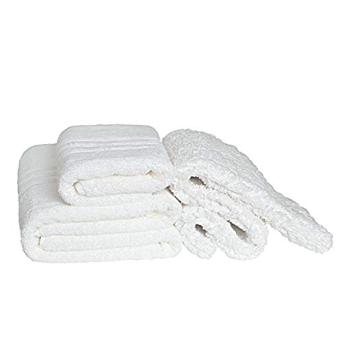 Chantarole - juego de toallas baño grandes - 600 gr/m2: