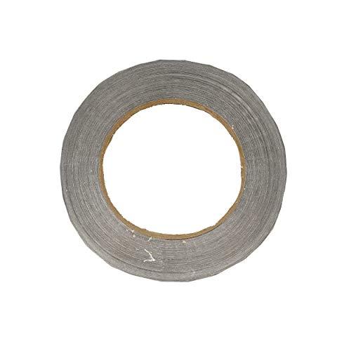 Gamma Unisex– Erwachsene Bleiband 1 Rolle 12,7mm - Silber Schlägerzubehör, Silver