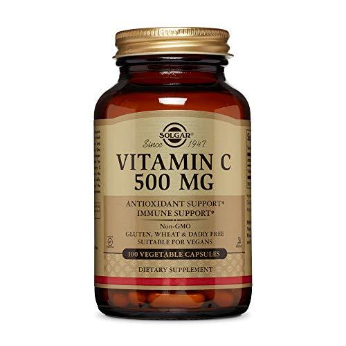 Solgar Vitamina C 500 mg Cápsulas vegetales - Envase de 100