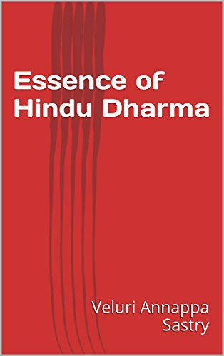 Essence of Hindu Dharma (English Edition)