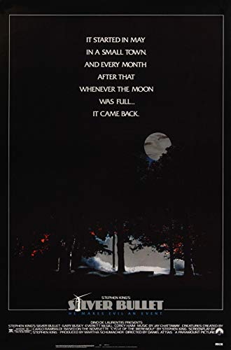 72413 Silver Bullet 1985 Movie Steven King Decor Wall 32x24 Poster Print