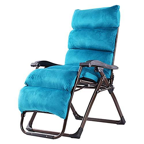 BLWX - Chaise pliante - Fauteuil inclinable Chaise de pause déjeuner pliante Bureau d'été Bureau Balcon Chaise pour sieste Chaise pour femme enceinte enceinte Chaise de plage Chaise pliante