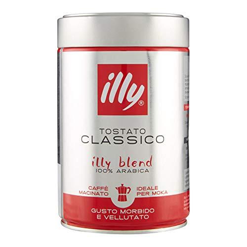 41bsh5PeCBL Caffè Macinato Illy