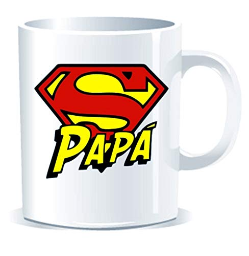 Imprimirlo Taza Regalo para el Día del Padre - Super Papa