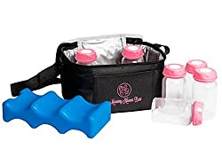 Store your breastmilk in a cooler filled with ice packs