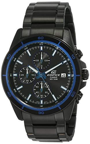 Casio Edifice Chronograph Black Dial Men's Watch-EFR-526BK-1A2VUDF (EX205)