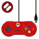 Data Frog Special Custom for Nintendo SNES USB Controller Glossy Shell Gaming...