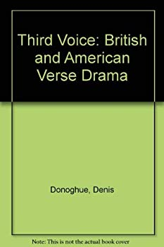 Third Voice: Modern British and American Drama 0691061300 Book Cover
