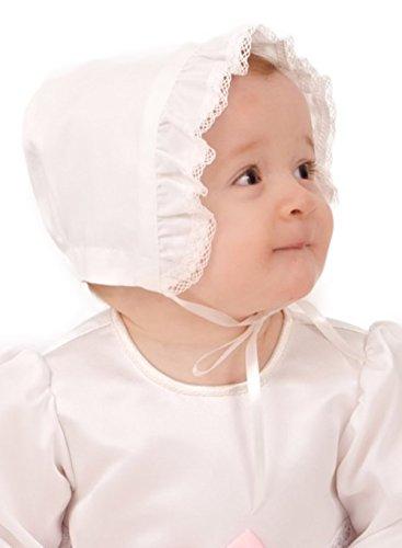 Grace of Sweden - Costume de baptême - Bébé (garçon) 0 à 24 mois blanc cassé Pink bow 80/86, 11-18 month, chest 20,5 in