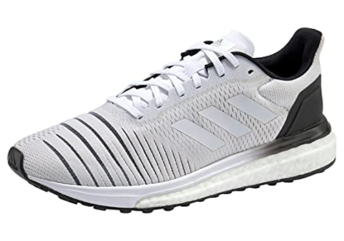 adidas Damen Solar Drive Fitnessschuhe, Weiß (Ftwbla/Ftwbla/Negbás 000), 36 2/3 EU